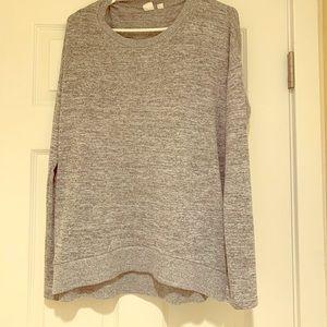 Gap long gray sweater.